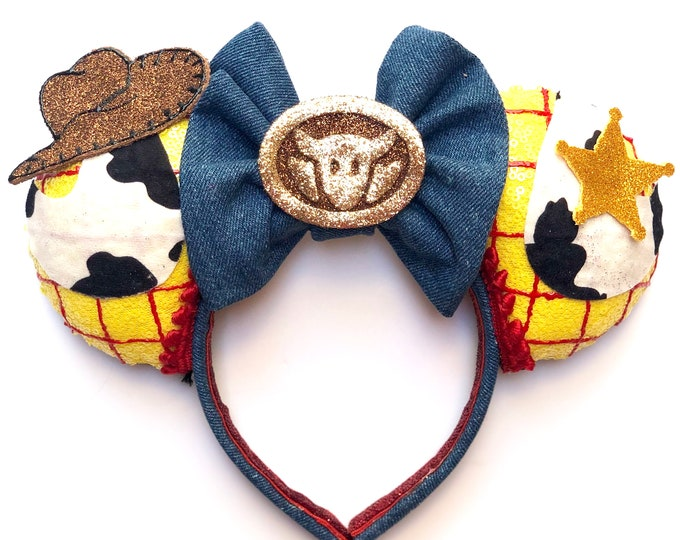 Woody inspired Mouse Ears
