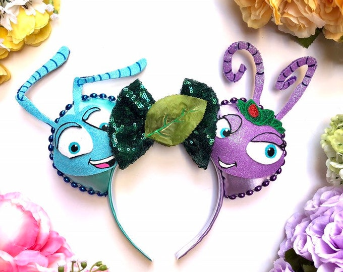 Flik & Princess Atta inspired Mouse Ears