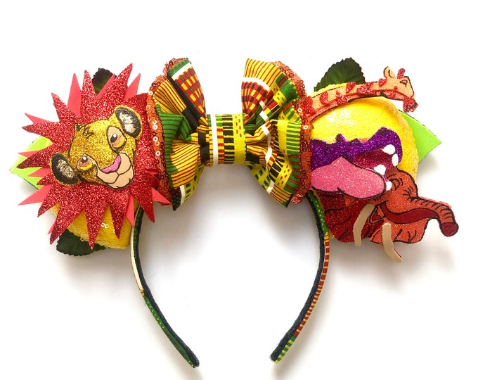 Just can't wait to be king inspired Mouse Ears