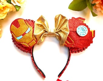 Iron Man Inspired Mouse Ears