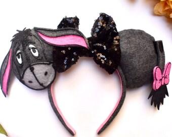 Eeyore inspired Mouse Ears