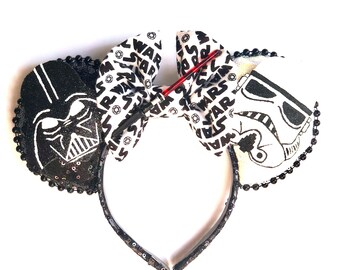 Darth Vader/Stormtrooper inspired Mouse  Ears