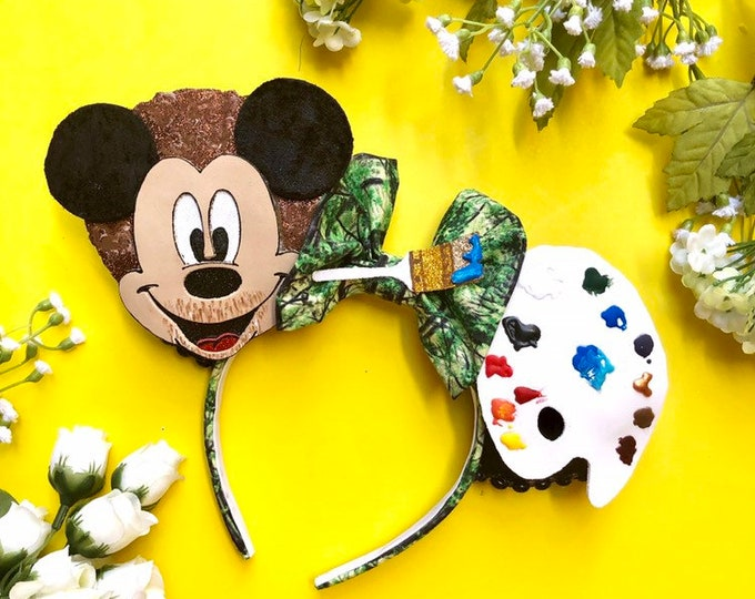 Painter Mickey Mouse Ears