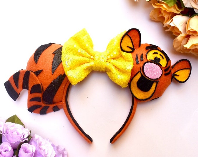 Tigger inspired Mouse Ears