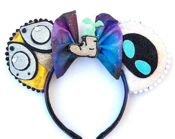 Wall-E Inspired Mouse Ears