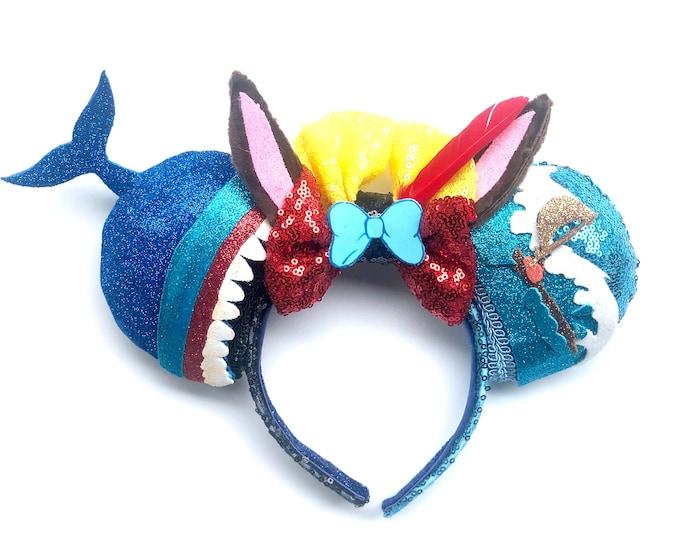 Monstro inspired Mouse Ears