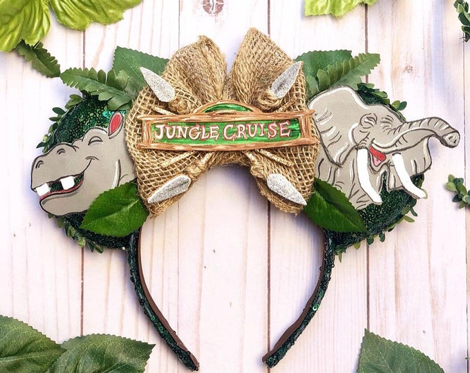 Jungle Cruise inspired Mouse Ears