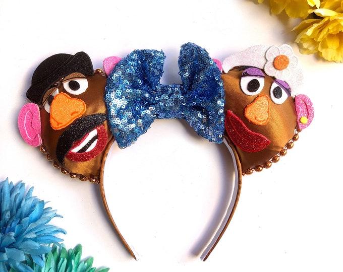 Mr. & Mrs. Potato Head inspired Mouse Ears