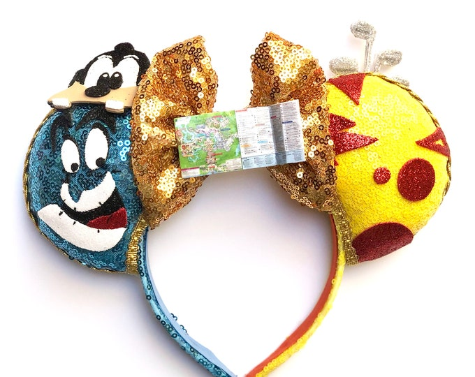 Vacation Genie inspired Mouse ears