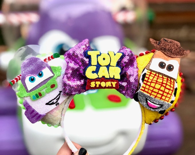 Toy Story Car inspired Mouse Ears