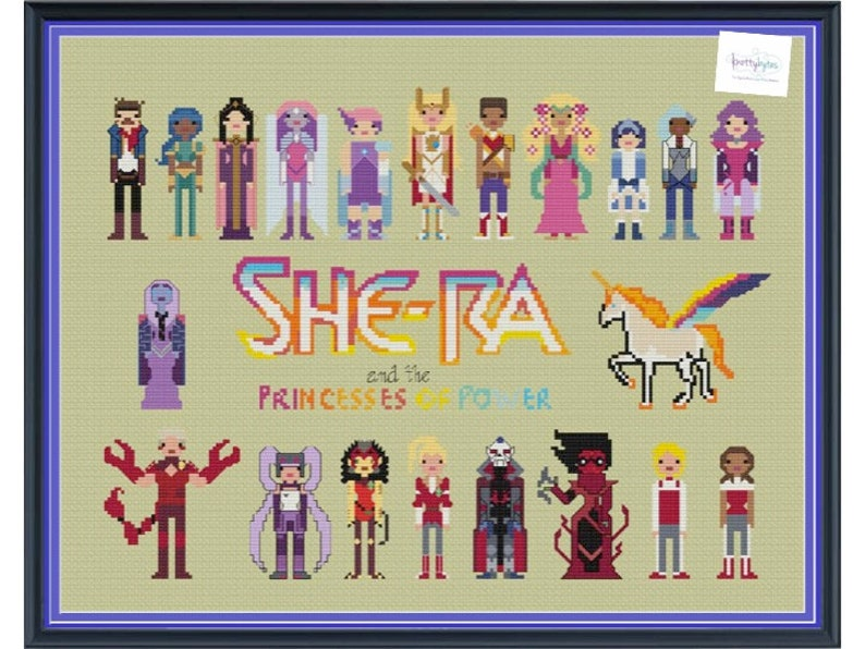 She-Ra & The Princesses of Power Unofficial Parody Cross image 0