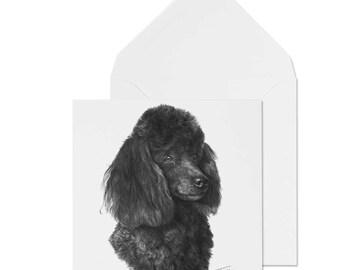 Presse-papier en verre Bo/îte cadeau Mike Sibley Caniche Race de chien Joli cadeau