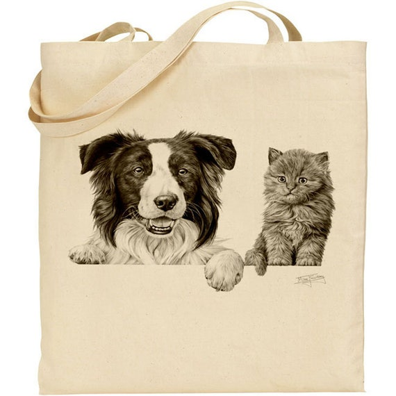 Ideal Present Quality Cotton Drill Apron Mike Sibley Portrait Artist |Cavalier King Charles Gift For Dog Lovers