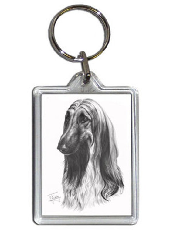 Afghan Hound Breed of Dog Lanyard Key Card Holder Perfect Gift