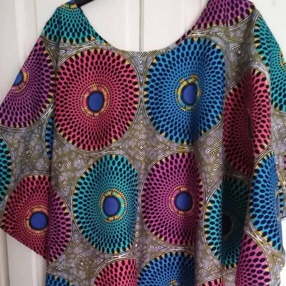 African print  kaftan dress plus size 16 18 20 22 24 26 28 30