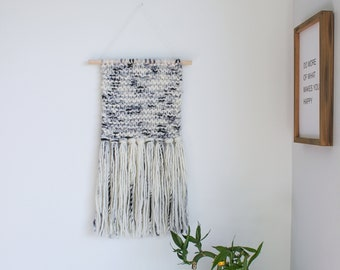 Chunky Merino Wool Knit Wall Hanging / Wall Hanging / Wall Decor / Home Decor