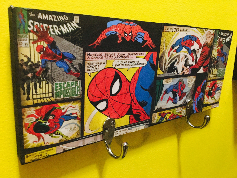 Spiderman Spiderman Decor Boys Room Decor Super Hero | Etsy