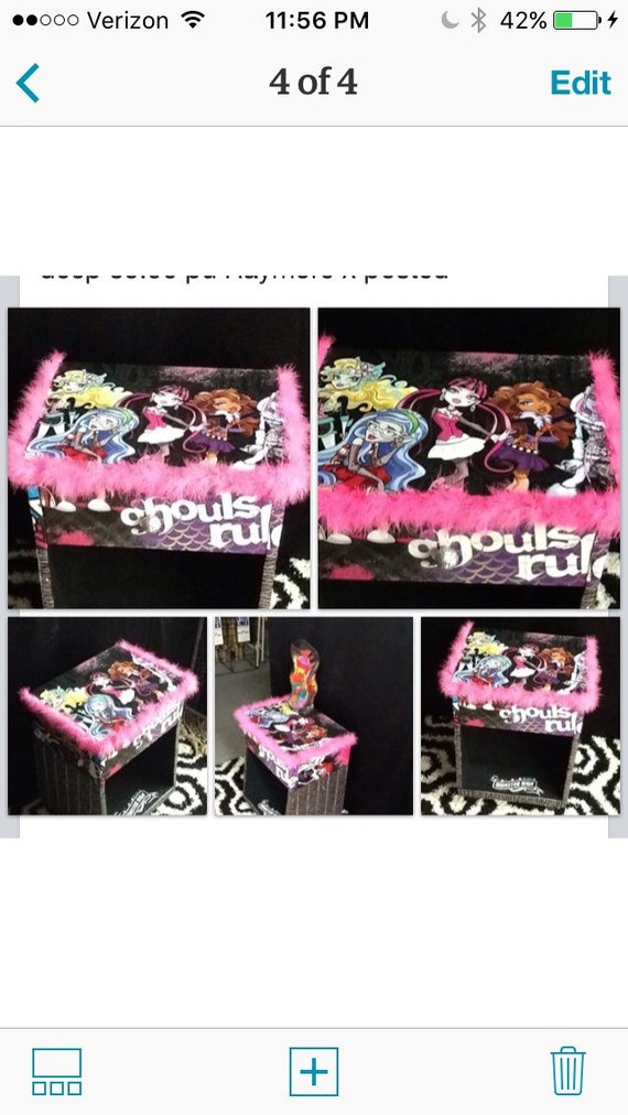 Superieur Monster High Teen Bedroom Decor Kids Furniture Kids | Etsy