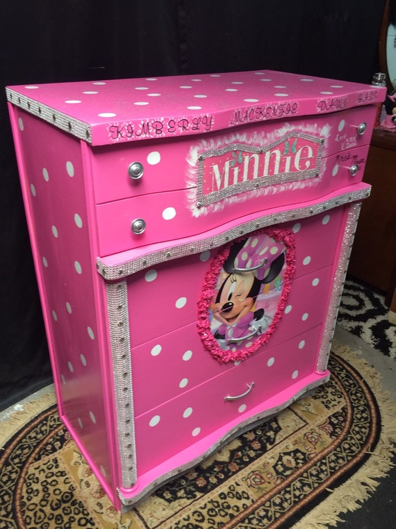 Minnie Mouse Minnie Mouse Decor Valentine Girl Kids Etsy