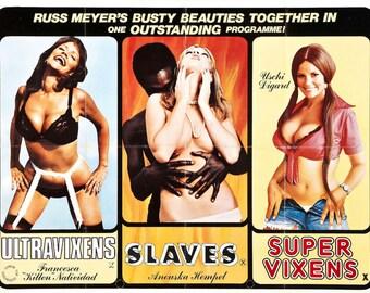 a8cf0278ac RUSS MEYER S Exploitation Movie Poster