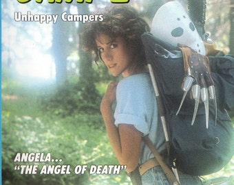 SLEEPAWAY CAMP II 2 Unhappy Campers Movie Poster Horror Sexy Slasher