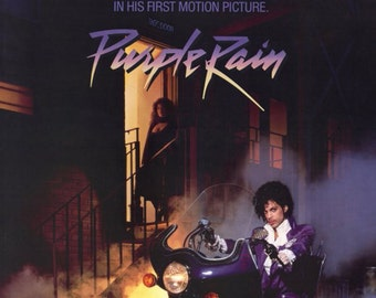 Purple Rain Movie Poster Prince 24x36in