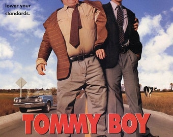 Spring Sales Event: TOMMY BOY Movie Poster Chris Farley David Spade SNL