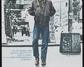Spring Sales Event: TAXI DRIVER movie Poster 1976 Robert De Niro Martin Scorsese