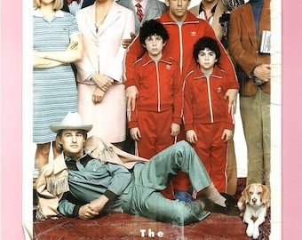 Spring Sales Event: THE ROYAL TENENBAUMS Movie Poster Wes Anderson