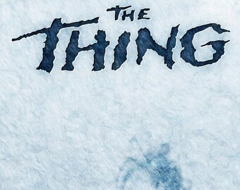 Spring Sales Event: JOHN CARPENTER'S The Thing Movie Poster Kurt Russell
