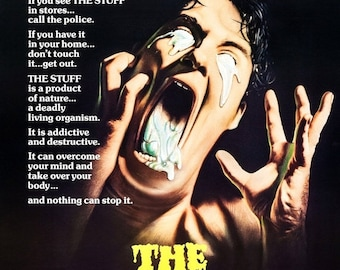 Spring Sales Event: The Stuff 1985 Cult/Horror Classic Movie POSTER