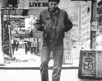 Spring Sales Event: TAXI DRIVER Movie Poster Robert Deniro Travis Bickle