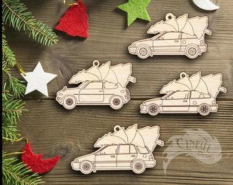 Honda Christmas Ornament - 1G civic, CRX, EF Hatch
