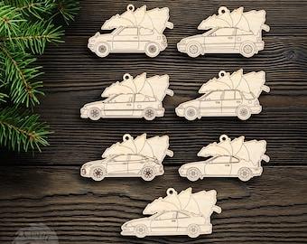 Car Christmas Ornament - 1G civic, CRX, EF Hatch, EF Wagon, Prelude, Civic Sport, Integra