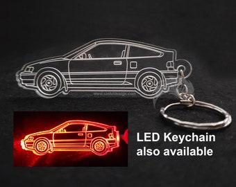 Honda CRX Acrylic Laser Cut Keychain