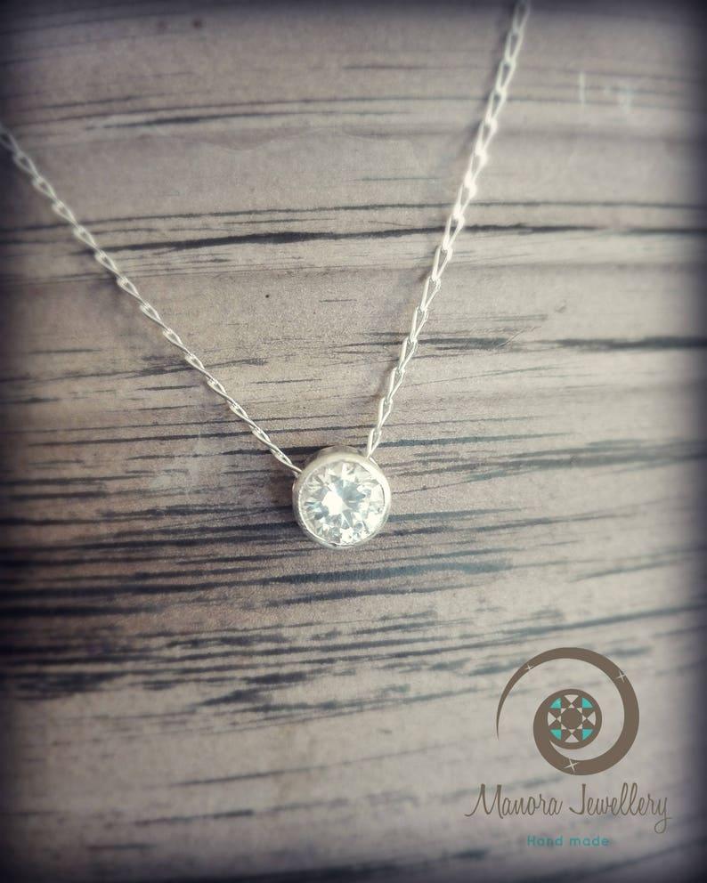 539e38ac16 Cubic Zirkonia Stein Diamant Ersatz großen weißen Stein | Etsy