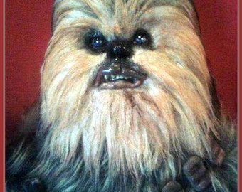 Chewbacca! STAR WARS Art Doll