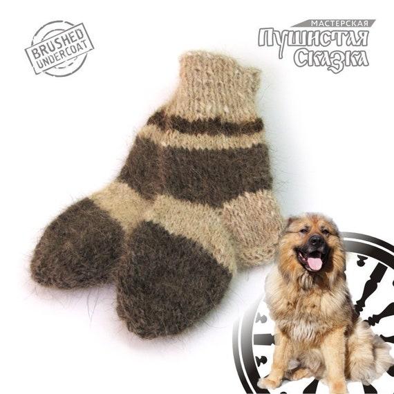 11a0b52e401b 13 cm    Socks from dog wool Caucasian shepherd Hand
