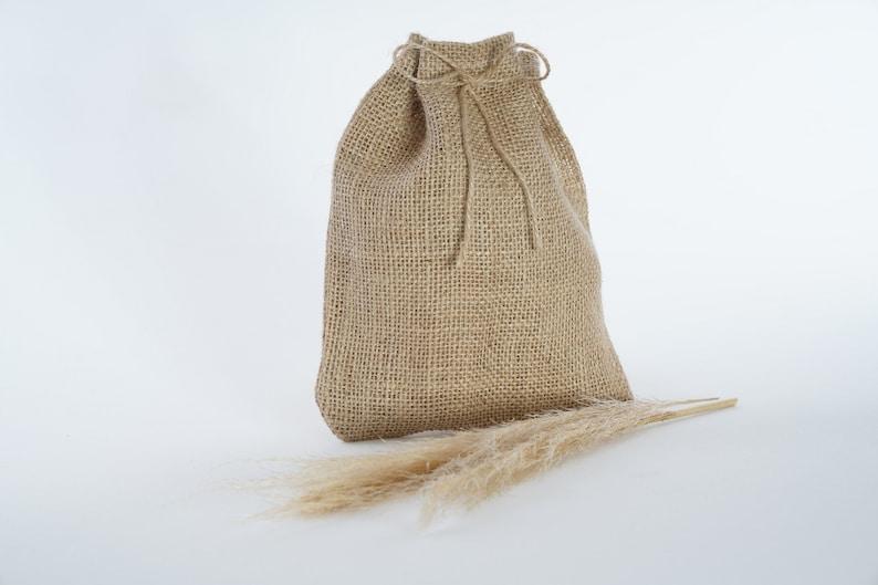 Natural Vegan  Jute Rustic Burlap,jewelry package bag,Party Recycle Bag Wedding Gift Bags Spice Bag,Drawstring Sacks 20 Pcs 7x9 17X22 cm