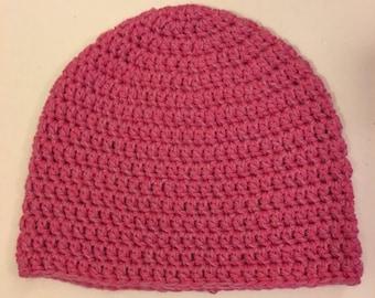 Bubblegum Pink Slouchie Beanie