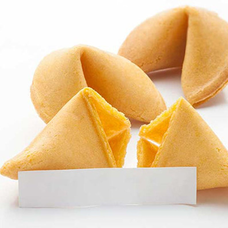 50 Customized Fortune Cookies You Choose The Message image 0