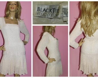 Vintage 80s TRASHY Peach Pink RUCHED LACE Prom Party Wedding Dress 8-10 S 1980s Hen Party Cocktail Bride Kitsch