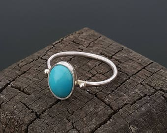 Turquoise Ring Handmade & Silver