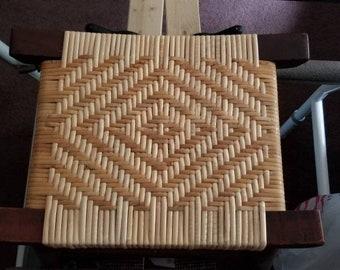 Unique little woven stool