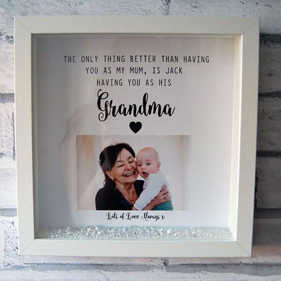 Vinyl Sticker for Box Frame Personallised gift Of all the Mums I got the Best