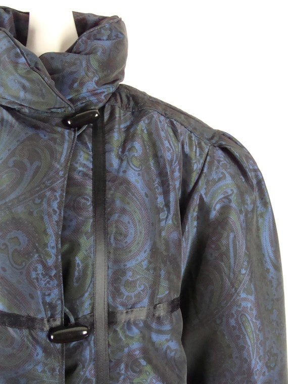Vintage Bill Blass Coat 80s Quilted Down Puffer C… - image 4