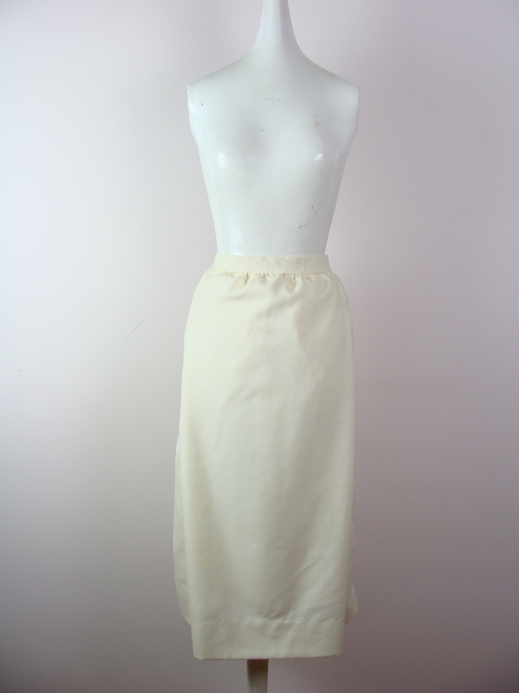 7d5017b15 Vintage Pauline Trigere Skirt 70's High Waisted Pencil | Etsy