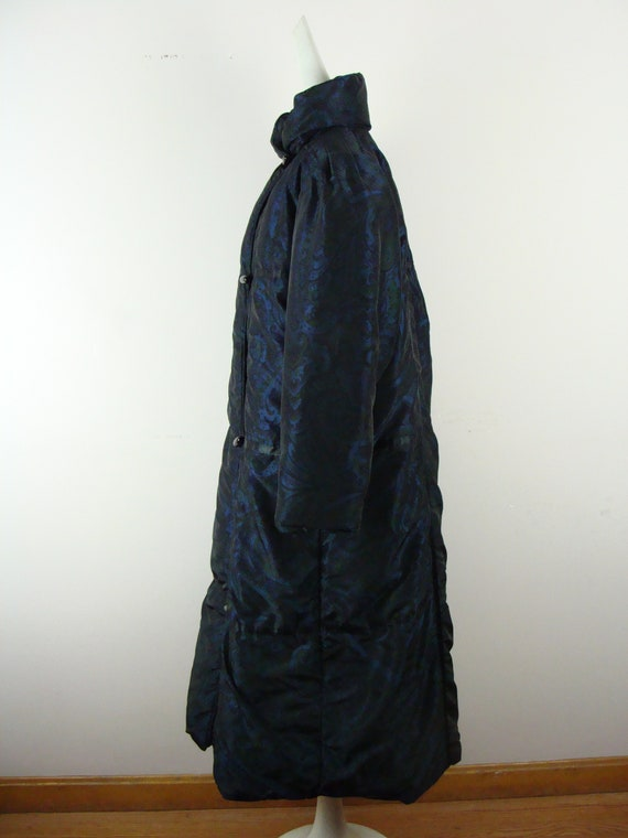 Vintage Bill Blass Coat 80s Quilted Down Puffer C… - image 8