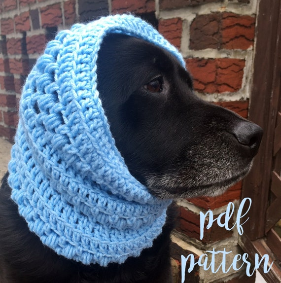 Dog Snood Pattern / Textured Dog Scarf Pattern / Dog Snood | Etsy