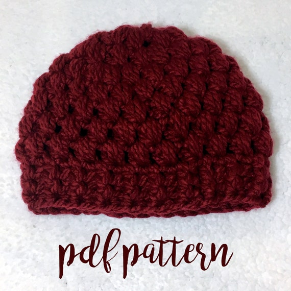 ef5e06db82d Beanie Pattern   Hat Pattern   Hat Pattern Simple   Crochet